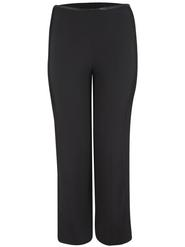 Black Side Pintuck Chiffon Trouser
